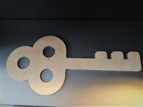 large vintage key-koph
